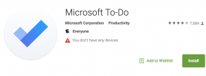 Microsoft ToDo: To-do List App