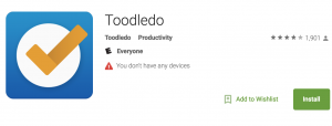 Toodledo: To-do List App